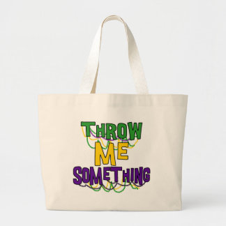 Mardi Gras Large Tote Bag