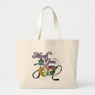 Mardi Gras Large Tote Bag