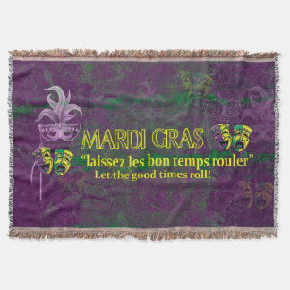 Mardi Gras Let the Good Times Roll