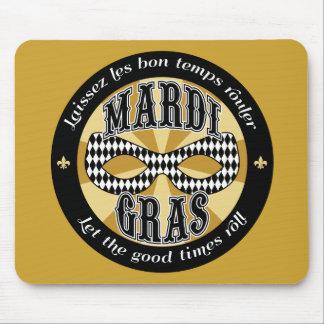 Mardi Gras Logo Mouse Pad