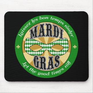 Mardi Gras Logo Mousepad