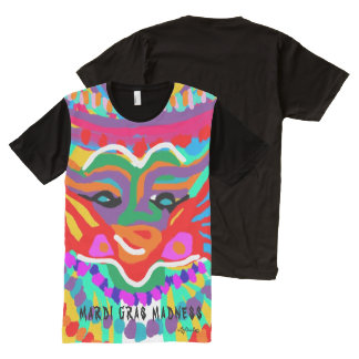 Mardi Gras Madness! TSHIRT All-Over Print T-Shirt