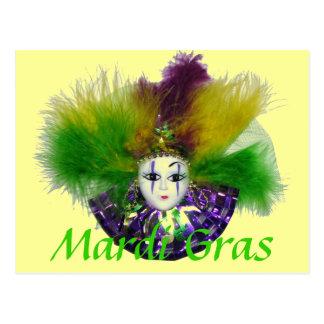 Mardi Gras Mask 2 Postcard
