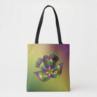 Mardi Gras Mask All-Over-Print Bag