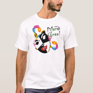 Mardi Gras Mask Apparel and Gifts! T-Shirt