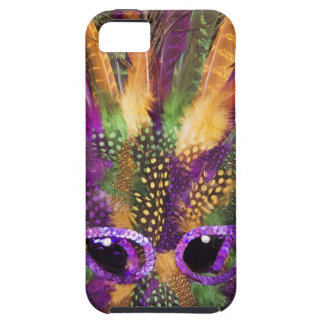 Mardi Gras mask, close-up, full frame Tough iPhone 5 Case