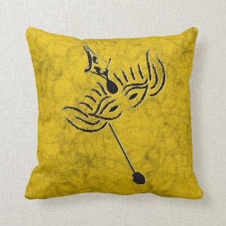 Mardi Gras Mask Cushion