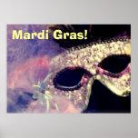 Mardi Gras Mask poster