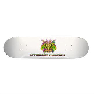 Mardi-Gras-Mask-The-Queen-V-2 Skate Board Decks