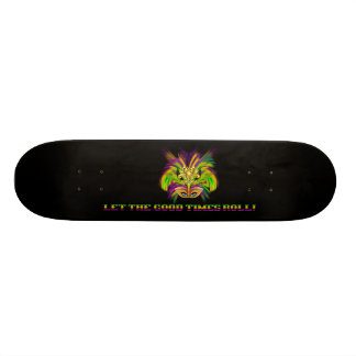 Mardi-Gras-Mask-The-Queen-V-2 Skate Boards
