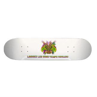Mardi-Gras-Mask-The-Queen-V-3 20.6 Cm Skateboard Deck