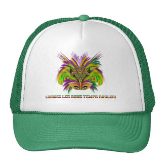 Mardi-Gras-Mask-The-Queen-V-3 Mesh Hat
