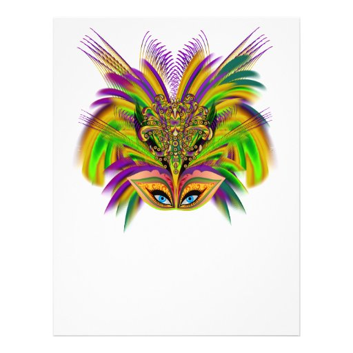 Mardi-Gras-Mask-The-Queen-V-3 Personalized Flyer