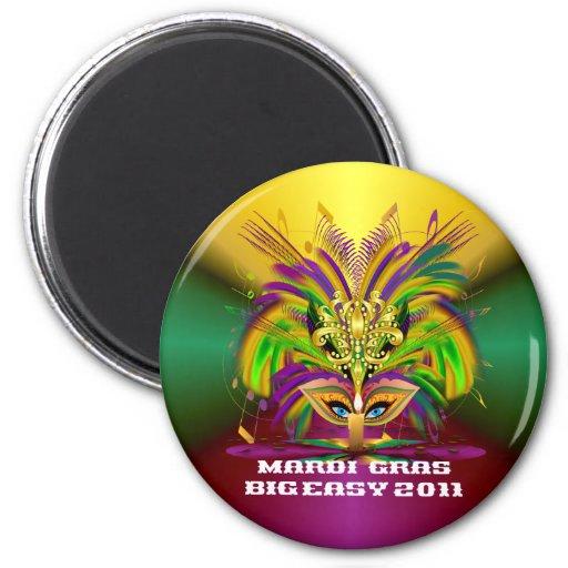 Mardi-Gras-Mask-The-Queen-V-4 Magnet
