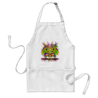 Mardi-Gras-Mask-The-Queen-V-4, The Queen Standard Apron