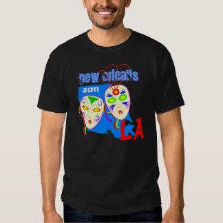 Mardi Gras Masks party Louisiana LA New Orleans Shirts