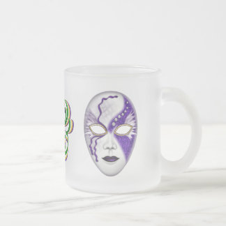 Mardi Gras Masks with Ribbons Mug