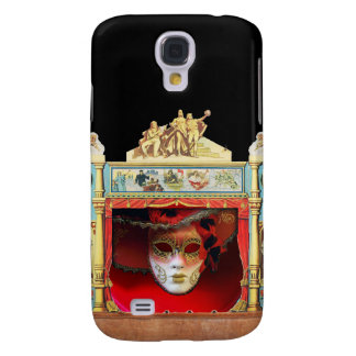 MARDI GRAS MASQUERADE BALL THEATRE STAGE GALAXY S4 CASE
