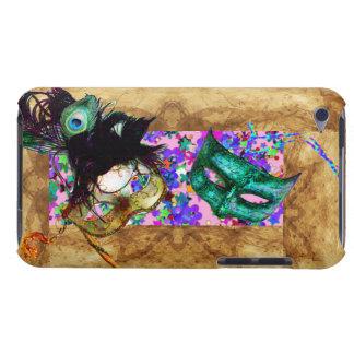 MARDI GRAS MASQUERADE parchment confetti iPod Touch Cover