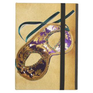 MARDI GRAS MASQUERADE parchment iPad Folio Cases
