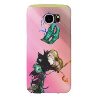 MARDI GRAS MASQUERADE silk Samsung Galaxy S6 Cases