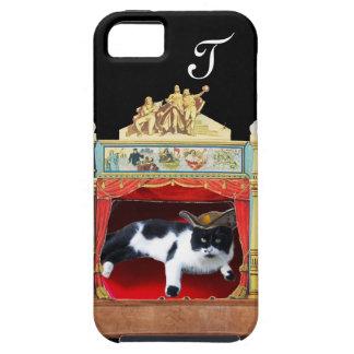 MARDI GRAS MASQUERADE THEATRE CAT Monogram iPhone 5 Covers