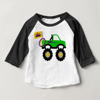 Mardi Gras Monster Truck Baby T-Shirt