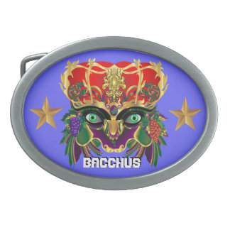 Mardi Gras Mythology Bacchus View Hints Please Belt Buckles