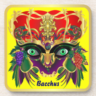 Mardi Gras Mythology Bacchus View Hints Please Coaster