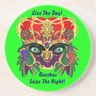 Mardi Gras Mythology Bacchus View Hints Please Coasters