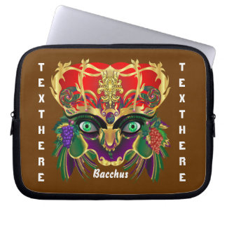 Mardi Gras Mythology Bacchus View Hints Please Computer Sleeve