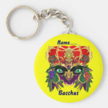 Mardi Gras Mythology Bacchus View Hints Please Key Chains