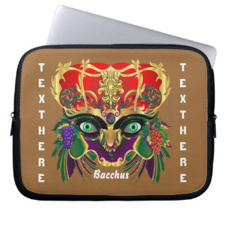 Mardi Gras Mythology Bacchus View Hints Please Laptop Computer Sleeves