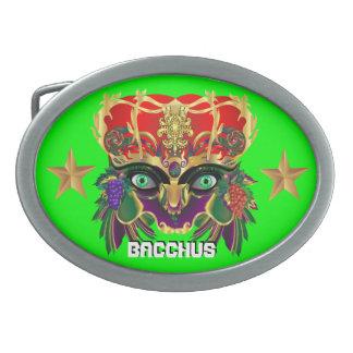 Mardi Gras Mythology Bacchus View Hints Please Oval Belt Buckles