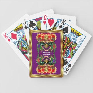 Mardi Gras Mythology Bacchus View Hints Please Poker Deck