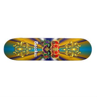 Mardi Gras Mythology Bacchus View Hints Please Skateboard