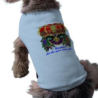 Mardi Gras Mythology Bacchus View Hints Please Sleeveless Dog Shirt