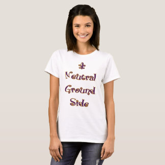 Mardi Gras - Neutral Ground Side T-Shirt