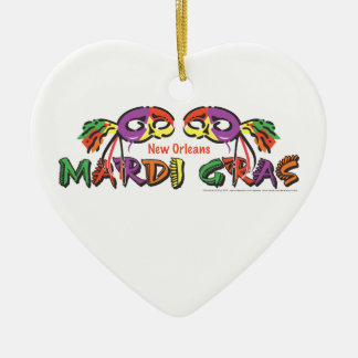 Mardi Gras New Orleans Christmas Ornament