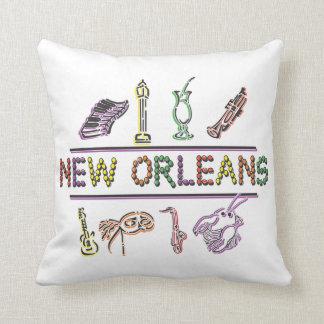 Mardi Gras New Orleans Cushion