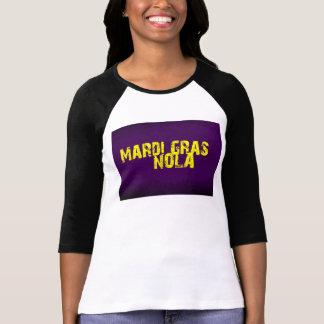 Mardi Gras NOLA Purple and Gold T-shirts