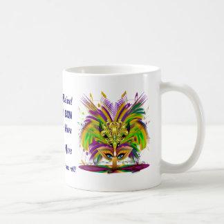 Mardi Gras Not Jumbo Read About Design Below Basic White Mug
