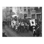 Mardi Gras Parade, 1906 Postcard