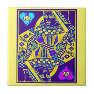Mardi Gras Parade Queen by Sharles Tile