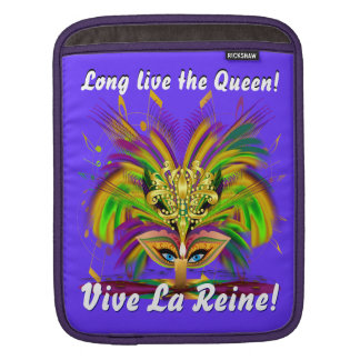 Mardi Gras Party Queen Please View Notes 30 colors iPad Sleeves
