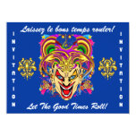 Mardi Gras Party Theme  Important See Notes Personalised Invites