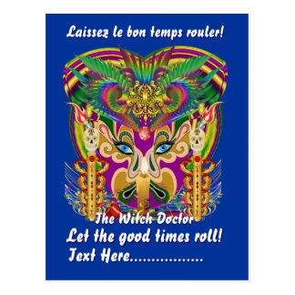 Mardi Gras Party Theme  Please View Hints Postcard