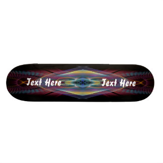 Mardi Gras Party Theme  Please View Notes 21.3 Cm Mini Skateboard Deck