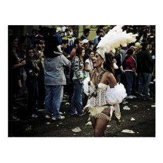 Mardi Gras Passion Postcard