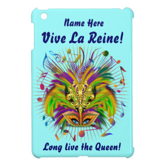 Mardi Gras Queen 3 Important view notes Cover For The iPad Mini